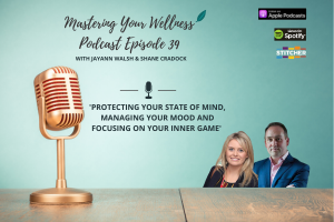 Podcast Episode 39 Mastering Your Wellness featuring Jayann Walsh and Shane Cradock
